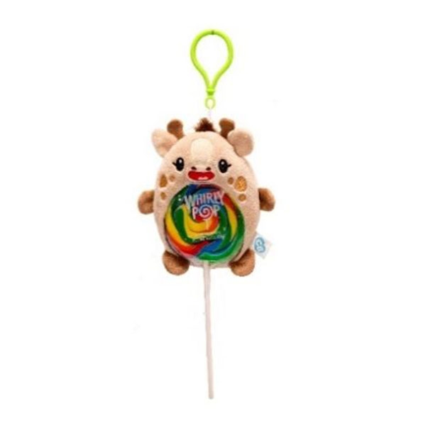 GIRAFFE PLUSH LOLLIPOP