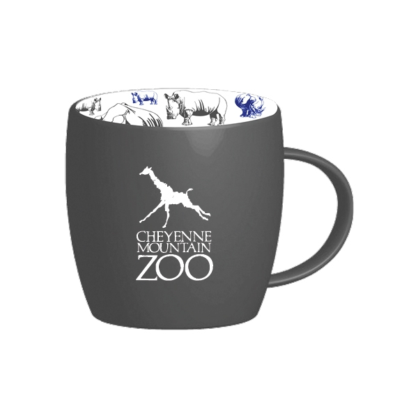 MUG LOGO RHINO REPEAT PATTERN