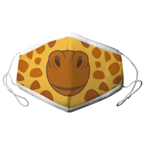 ADULT ADJUSTABLE GIRAFFE FACE MASK