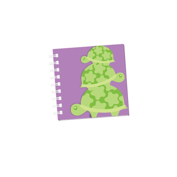 TURTLE CUT OUT NOTEPAD