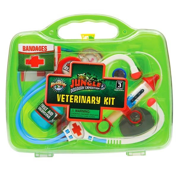 JUNGLE VETERINARY KIT GREEN