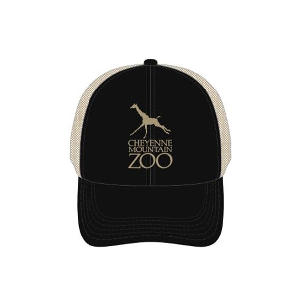 ADULT BASEBALL HAT LOGO BLACK