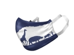 CHEYENNE MOUNTAIN ZOO LOGO COLORADO FLAG MASK